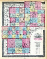 Douglas, Texas, Ozark and Wright Counties Missouri State Atlas 1873 Missouri  map online